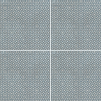 Mutina Ceramiche & Design Azulej PUA22_AzulejRendaGrigio20X20 , Kitchen, Living room, Public spaces, Bathroom, Patchwork style style, Designer style style, Patricia Urquiola, Faux encaustic tile effect, Concrete effect effect, Glazed porcelain stoneware, wall & floor, Matte surface, Rectified edge, Shade variation V2