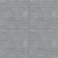 Mutina Ceramiche & Design Azulej PUA42_AzulejRendaNero20X20 , Cuisine, Séjour, Espace public, Salle de bain, style Style patchwork, style Style designer, Patricia Urquiola, Effet imitation carreaux de ciment, Effet effet béton, Grès cérame émaillé, revêtement mur et sol, Surface mate, Bord rectifié, Variation de nuances V2