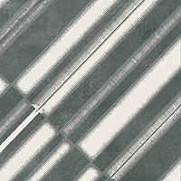 Mutina Ceramiche & Design Azulej PUA49_AzulejDiagonalNero20X20 , Kitchen, Living room, Public spaces, Bathroom, Patchwork style style, Designer style style, Patricia Urquiola, Faux encaustic tile effect, Concrete effect effect, Glazed porcelain stoneware, wall & floor, Matte surface, Rectified edge, Shade variation V2