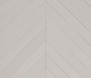 Mutina Ceramiche & Design Mews BOM91_MewschevronChalk , Séjour, Espace public, Salle de bain, style Style designer, Edward Barber, Jay Osgerby, Grès cérame émaillé, Grès cérame non-émaillé, revêtement mur et sol, Surface mate, Bord rectifié, Variation de nuances V4, V1