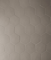 Mutina Ceramiche & Design Phenomenon TYPHX12_HegsagonFango_16,5*14,5 , Designer style style, Tokujin Yoshioka, Unicolor, 3D effect effect, Living room, Unglazed porcelain stoneware, wall & floor, Matte surface, non-rectified edge