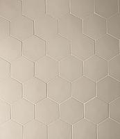 Mutina Ceramiche & Design Phenomenon TYPHX19_HegsagonGrigio_16,5*14,5 , Designer style style, Tokujin Yoshioka, Unicolor, 3D effect effect, Living room, Unglazed porcelain stoneware, wall & floor, Matte surface, non-rectified edge
