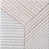 Mutina Ceramiche & Design Tratti ISTR11_Triple10X10 , stile Stile design, Inga Sempé, Salotto, PEI IV, Gres porcellanato smaltato, rivestimento e pavimento, Superficie opaca, bordo non rettificato