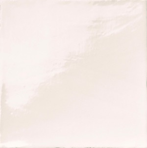 Natucer Stow STOW BIANCO 20 x 20 , Bathroom, Ceramic Tile, wall, Glossy surface, Uneven edge, Shade variation V4