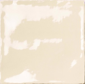 Natucer Stow STOW BONE 10 x 10 , Bathroom, Ceramic Tile, wall, Glossy surface, Uneven edge, Shade variation V4