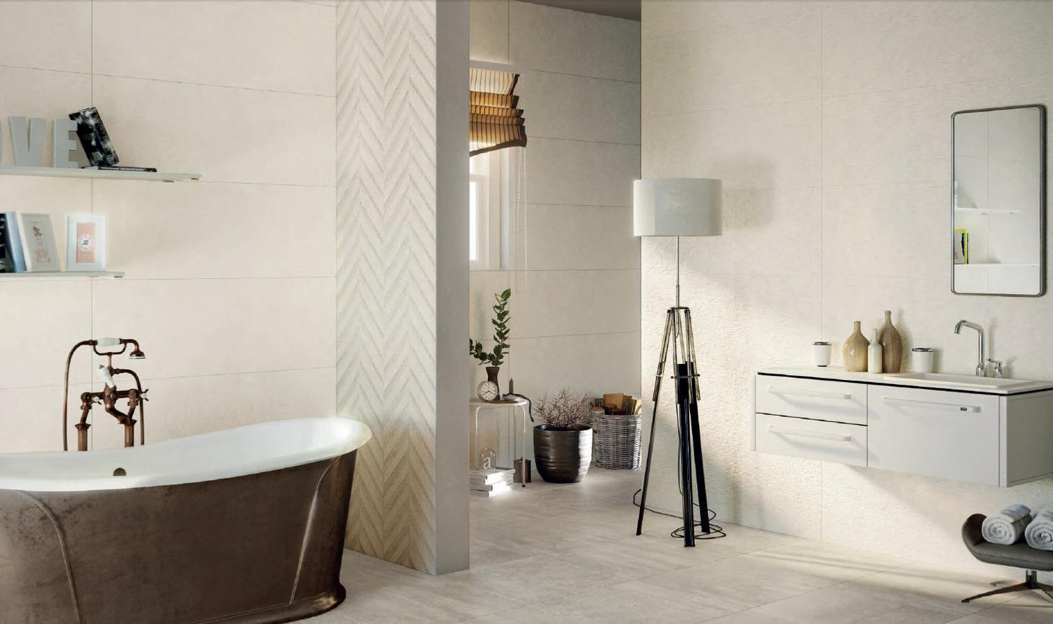 Fois luintrieur a t ajout ideabook par les with carrelage naxos start - Fournisseur salle de bain ...