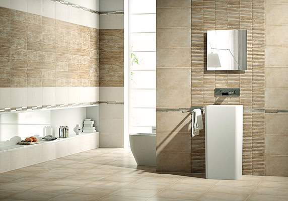 Naxos ceramica tile expert distributor of rest of the for Carrelage moderne pour salle de bain