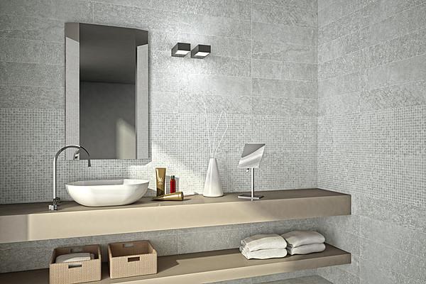 Piastrelle in ceramica sand rose di naxos tile expert - Piastrelle bagno rosse ...