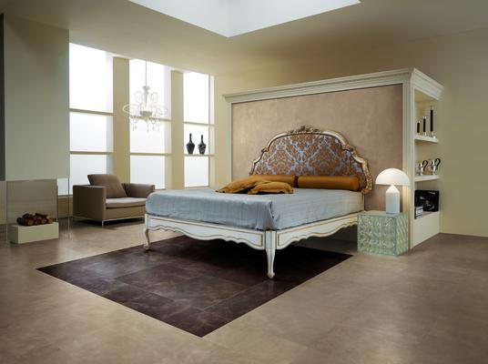 Camera da letto piastrelle di gres porcellanato collezione