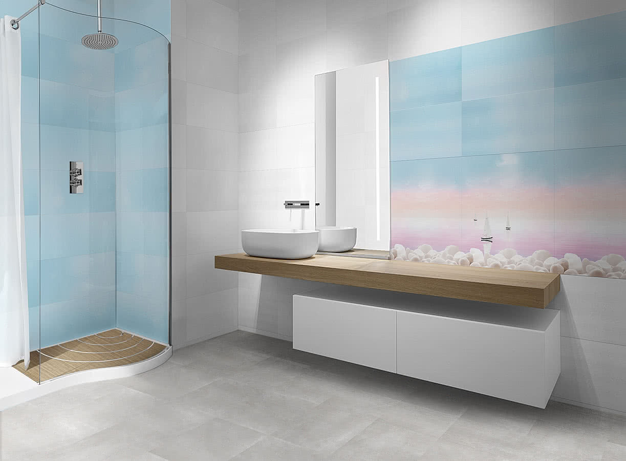 Decor suyay 3 rosa balma by novogres tile distributor balma novogres 6 bathroom ceramic tile wall glossy surface dailygadgetfo Images