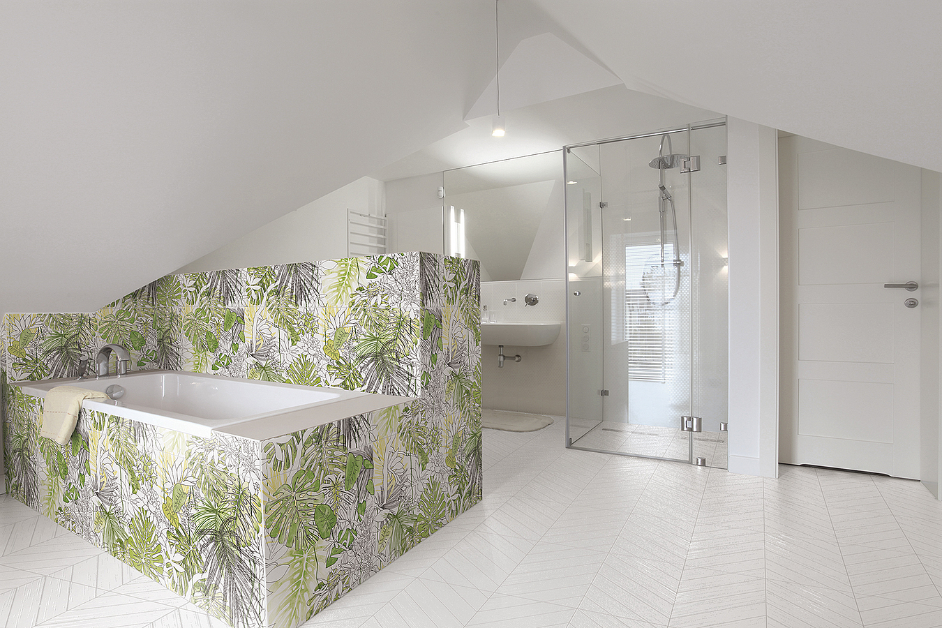 Jungle Porcelain Tiles By Ornamenta Tile Expert