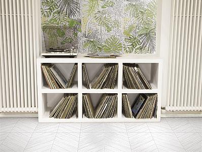 Piastrelle in gres porcellanato jungle di ornamenta. tile.expert