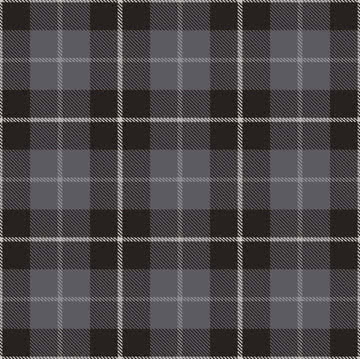Ornamenta Tartan TN6060B_BLACK 60x60 , Contemporary style style, Fabric (wallpaper) effect effect, Bathroom, Public spaces, Bedroom, Glazed porcelain stoneware, wall & floor, Matte surface, non-rectified edge