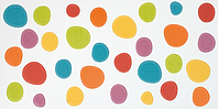 Pamesa Agatha 28.645.1.1716_AgathaPartyLunares , Bathroom, Spaces for children, Kitchen, Living room, Designer style style, Agatha Ruiz de la Prada, Ceramic Tile, wall, Glossy surface, Unicolor, non-rectified edge, Shade variation V3