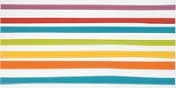 Pamesa Agatha 28.645.1.1719_AgathaParty1-Lineas , Salle de bain, Séjour, style Style designer, style Espaces enfants, Agatha Ruiz de la Prada, Effet imitation carreaux de ciment, Unicolore, Céramique, revêtement mur et sol, Surface brillante, Surface mate, Bord non rectifié, Variation de nuances V1, V3