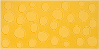 Pamesa Agatha 28.645.11.5063_AgathaLunaresAmarillo , Bathroom, Spaces for children, Kitchen, Living room, Designer style style, Agatha Ruiz de la Prada, Ceramic Tile, wall, Glossy surface, Unicolor, non-rectified edge, Shade variation V3
