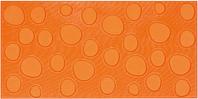 Pamesa Agatha 28.645.57.5063_AgathaLunaresNaranja , Salle de bain, Séjour, style Style designer, style Espaces enfants, Agatha Ruiz de la Prada, Effet imitation carreaux de ciment, Unicolore, Céramique, revêtement mur et sol, Surface brillante, Surface mate, Bord non rectifié, Variation de nuances V1, V3