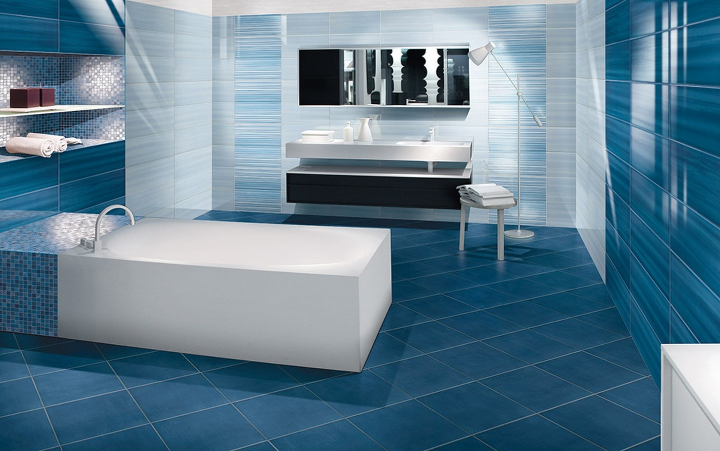 Skyfall ceramic and porcelain tiles by paul tile expert - Piastrelle azzurre ...
