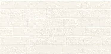 Ceramiche Piemme Satin MRV259_SatinBiancoArt_31*62,2 , Bathroom, Designer style style, Valentino, Brick effect effect, Ceramic Tile, wall, Matte surface, non-rectified edge, Rectified edge, Shade variation V1