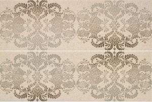 Porcelanite Dos 7514 Composición 7514 Gris 25x75 Rex II  (2pc in Set) , Bathroom, Stone effect effect, 3D effect effect, Ceramic Tile, wall, Matte surface, non-rectified edge