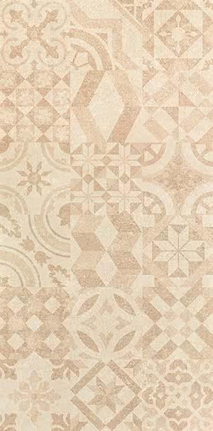 Revigres Nimbus 31002189C1_ImpressionsMixBegenat_30*60 , Bathroom, Kitchen, Patchwork style style, Concrete effect effect, 3D effect effect, Ceramic Tile, wall, Matte surface, Rectified edge, non-rectified edge, Shade variation V3