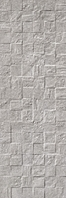 Revigres Nimbus 3101G871C1_NimbusBlockFogrect_30*90 , Bathroom, Kitchen, Patchwork style style, Concrete effect effect, 3D effect effect, Ceramic Tile, wall, Matte surface, Rectified edge, non-rectified edge, Shade variation V3