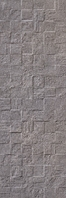 Revigres Nimbus 3101G872C1_NimbusBlockGrisrect_30*90 , Bathroom, Kitchen, Patchwork style style, Concrete effect effect, 3D effect effect, Ceramic Tile, wall, Matte surface, Rectified edge, non-rectified edge, Shade variation V3
