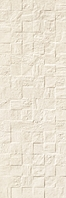 Revigres Nimbus 3101G873C1_NimbusBlockMarfimrect_30*90 , Bathroom, Kitchen, Patchwork style style, Concrete effect effect, 3D effect effect, Ceramic Tile, wall, Matte surface, Rectified edge, non-rectified edge, Shade variation V3