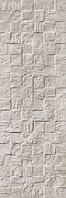 Revigres Nimbus 3101G875C1_NimbusBlockPlatinarect_30*90 , Bathroom, Kitchen, Patchwork style style, Concrete effect effect, 3D effect effect, Ceramic Tile, wall, Matte surface, Rectified edge, non-rectified edge, Shade variation V3