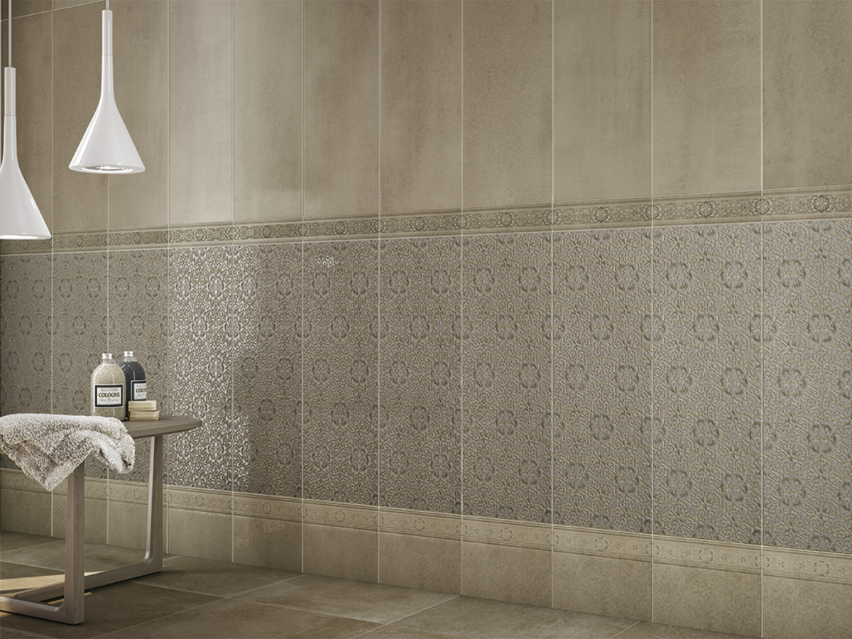 Fvwt1eb141 dreamvision dream by roca tile distributor dream03ambiente bathroom concrete effect effect oriental style style ceramic tile wall dailygadgetfo Image collections