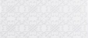 Roca Sanitario Maiolica FBX3THD011_MaiolicaWhiteDeco , Baño, Cocina, estilo Estilo hecho a mano, Efecto efecto tela (papel pintado), Cerámica, revestimiento, Acabado brillo, borde no rectificado, Destonificación V2