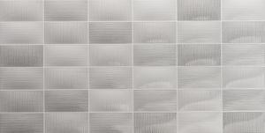 Roca Sanitario Matier F9O2T35021_Mosaico Glass Gris , Kitchen, Bathroom, Ceramic Tile, wall, Honed surface, non-rectified edge, Shade variation V2