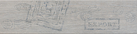 Ceramica Rondine Jungle S54168_JungleLightGreyStampMix15*61 , Living room, Wood effect effect, PEI V, Glazed porcelain stoneware, wall & floor, Slip-resistance R10, non-rectified edge, Shade variation V2