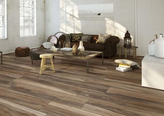 Ceramica Rondine Ontario 2 Wood Effect Living Room