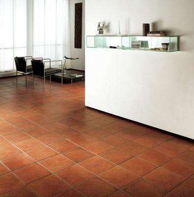 Saime Ceramiche Cotto Ile 0 Living Room Terracotta