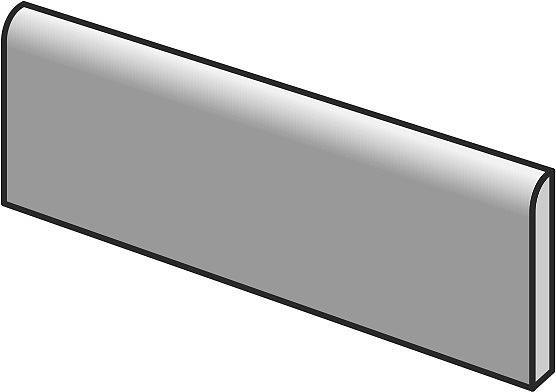Listwa przypodłogowa Deconcrete od Sant′Agostino, Gres szkliwiony, 7.3x60 cm, Powierzchnia antypoślizgowa, Efekt lastryko,betonu, Kolor beżowy,
