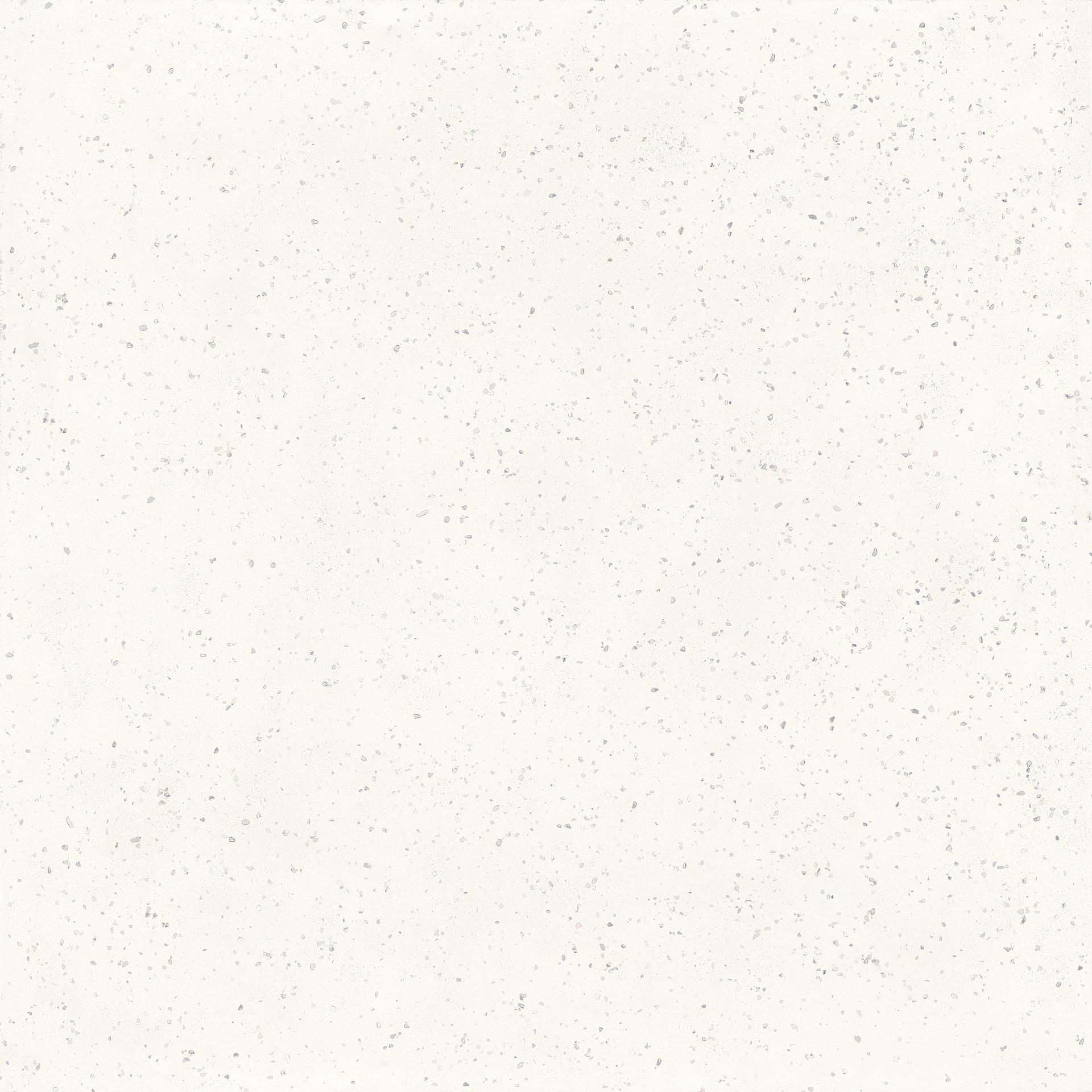 Płytki bazowe Deconcrete od Sant′Agostino, Gres szkliwiony, 120x120 cm, Powierzchnia antypoślizgowa, Efekt lastryko,betonu, Kolor biały,