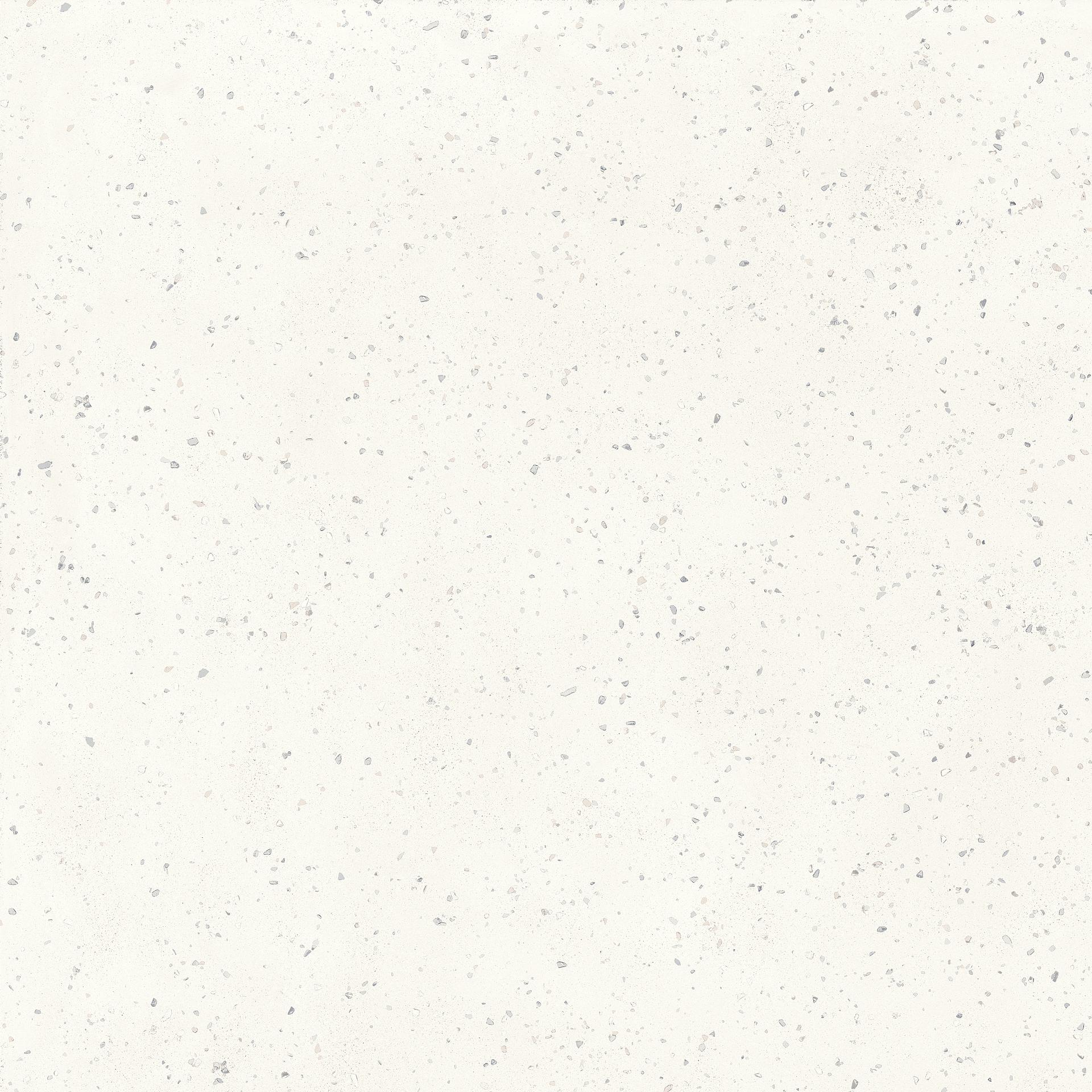 Płytki bazowe Deconcrete od Sant′Agostino, Gres nieszkliwiony, 90x90 cm, Powierzchnia antypoślizgowa, Efekt lastryko,betonu, Kolor biały,
