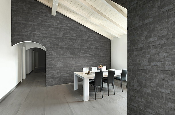 Savoia Wall Brick 2 Living Room Effect