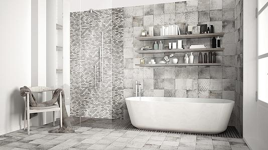 Piastrelle in gres porcellanato elements di self tile expert