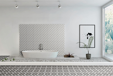 Piastrelle in gres porcellanato more di self tile expert