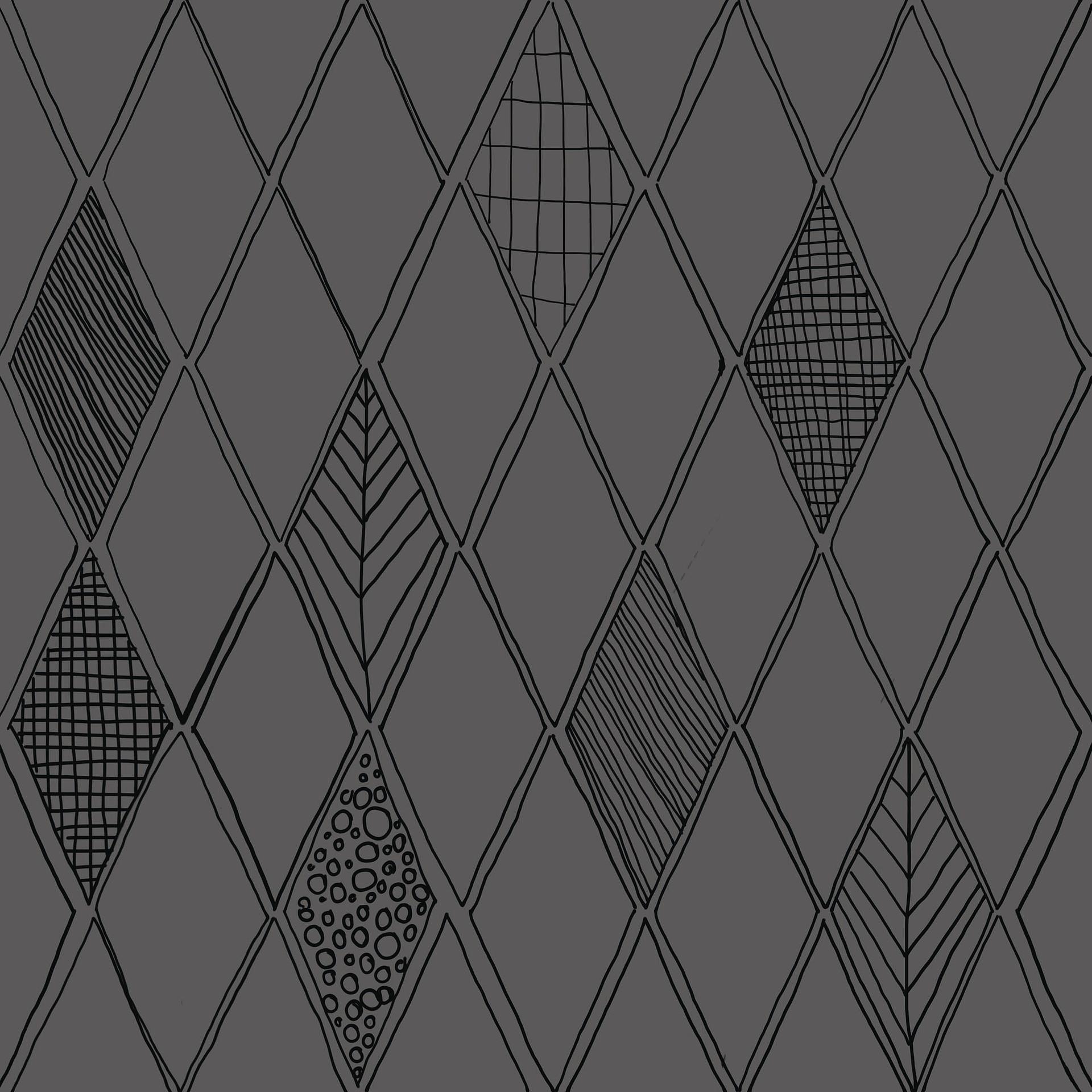 Carrelage More de Self, Grès cérame émaillé, 20x20 cm, Surface mate, Teinte grise,