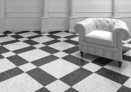 Piastrelle in gres porcellanato terrazzo di self tile expert