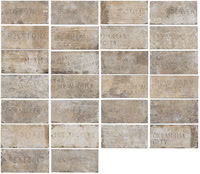 Serenissima Cir Industrie Ceramiche Chicago 1047423_CityMixSouthSide10X20 , Stone effect effect, Brick effect effect, Outdoors, Kitchen, Public spaces, Bedroom, Loft style style, PEI IV, Glazed porcelain stoneware, wall & floor, Slip-resistance R10, R11, non-rectified edge, Shade variation V4