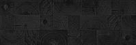 Settecento Matiere 760042_MatiereArbreBlack_24*72 , Cuisine, Séjour, Salle de bain, Espace public, Chambre à coucher, style Style patchwork, Effet effet bois, PEI IV, Grès cérame émaillé, revêtement mur et sol, Surface mate, Surface brillante, Surface semi-polie, Bord rectifié, bord non rectifié