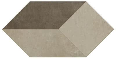 Settecento Terrae 170017_LosangaColoriC(Bianco,Creta,Fango)_47,8*95, , Living room, Public spaces, Bathroom, Outdoors, Kitchen, Concrete effect effect, Terracotta effect effect, Loft style style, PEI IV, Glazed porcelain stoneware, wall & floor, Slip-resistance R11, Matte surface, Semi-polished surface, Rectified edge, non-rectified edge, Shade variation V3