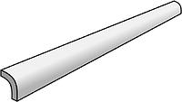 Settecento Traces 14806-_QuarterRoundCalacatta1,2*28 , Bathroom, Stone effect effect, Wood effect effect, PEI IV, Glazed porcelain stoneware, wall & floor, Matte surface, non-rectified edge, Shade variation V2, V3