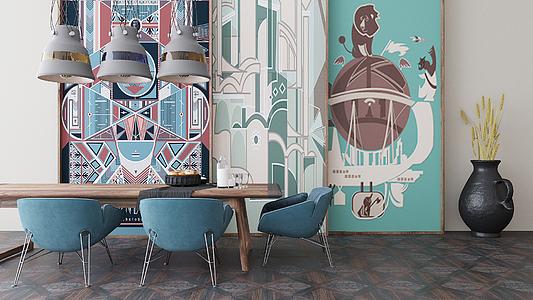 Piastrelle in gres porcellanato vintage di settecento . tile.expert