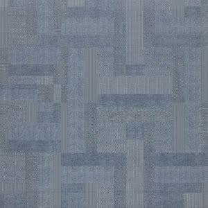 Sintesi Ceramica Digital Tweed PF00009516_DigitalTweed600JeansRet , Fabric (wallpaper) effect effect, Bathroom, Public spaces, Glazed porcelain stoneware, wall & floor, Matte surface, Rectified edge, Shade variation V2