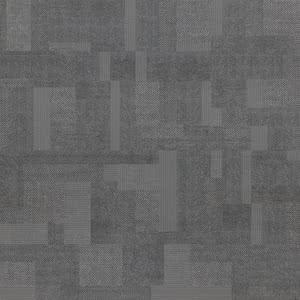 Sintesi Ceramica Digital Tweed PF00009517_DigitalTweed600SmokeRet , Fabric (wallpaper) effect effect, Bathroom, Public spaces, Glazed porcelain stoneware, wall & floor, Matte surface, Rectified edge, Shade variation V2